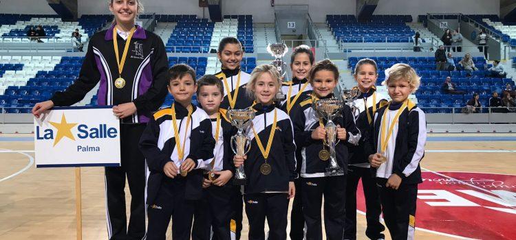 L'equip de l'extraescolar de gimnàstica rítmica participa al Trofeu de Sant Sebastià