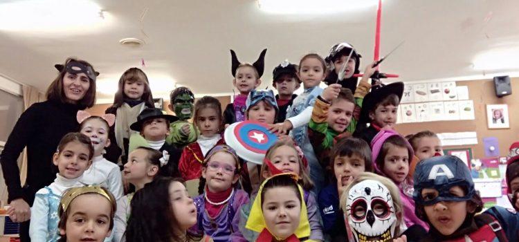 Desfilada carnestoltes a infantil