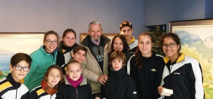 Els alumnes de 6è visiten el Museu d'Arts Decoratives de Mallorca