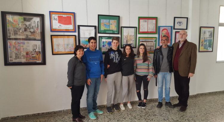 """La Salle Palma inaugura la mostra artística itinerant """"La Salle aposta per l'art"""""""