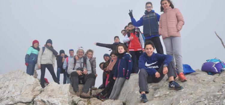 Fotos de la darrera sortida del grup de senderisme al puig de l'Ofre