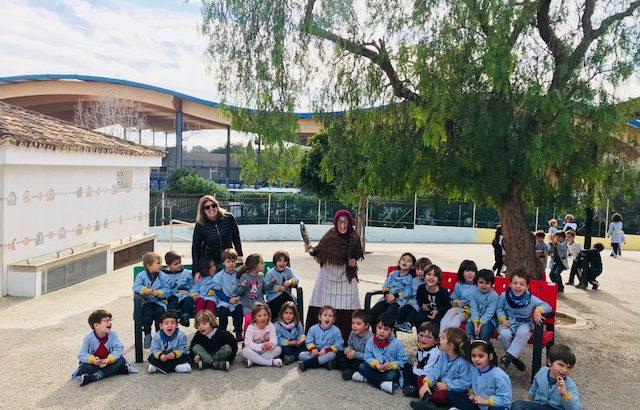 Visita de la Jaia Corema a infantil