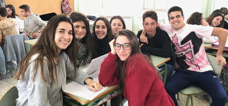 """""""Periodistes d'Elit"""", els alumnes de 4t ESO B participen amb el Palma Futsal"""