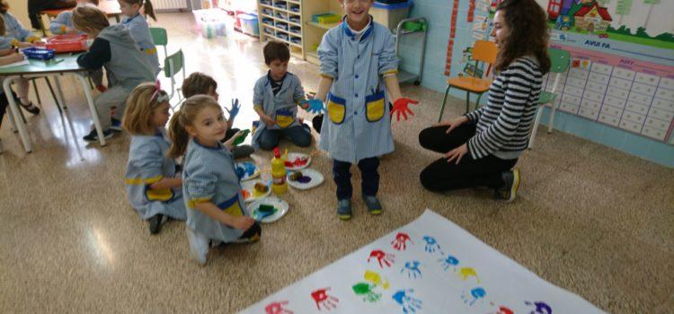Taller d'infantil amb els alumnes de Cicles