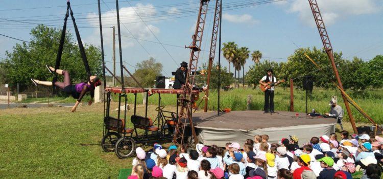 1r d'infantil visita el Circ Bover