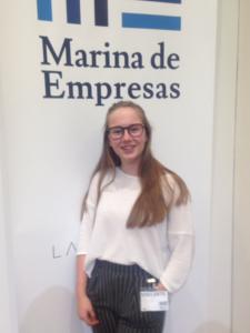 Alba Velasco, vencedora nacional del VI Concurso de Oratoria de la Fundación Educativa Activat-T