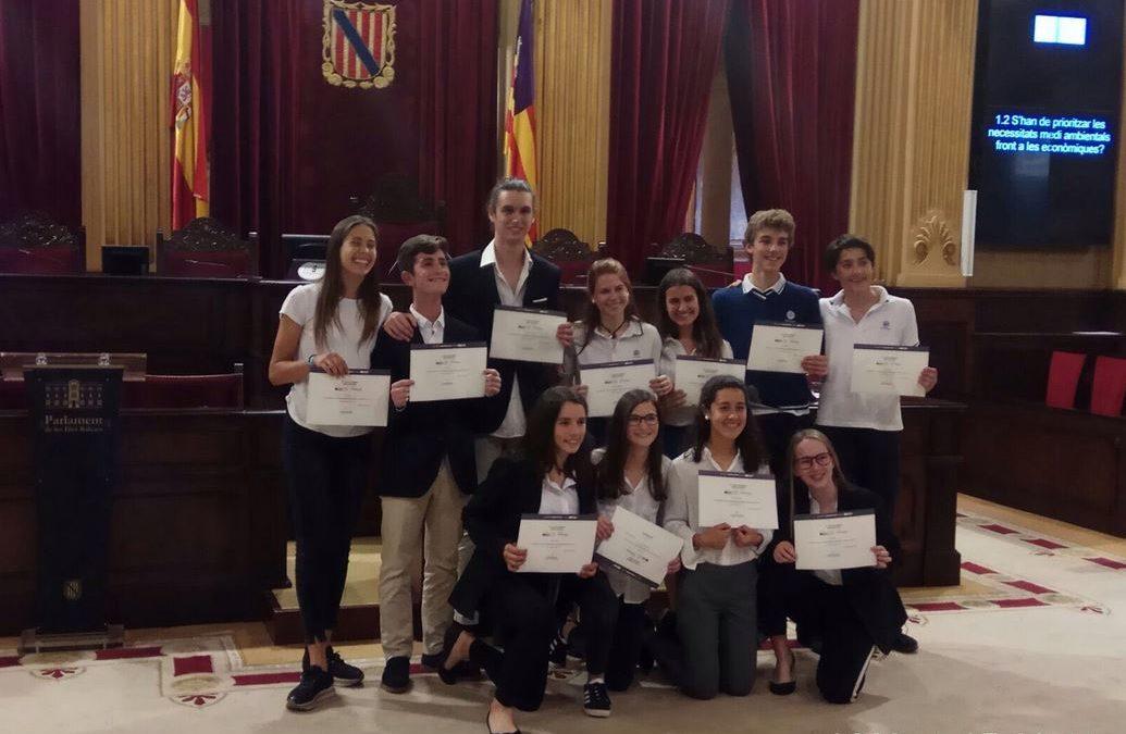 L'equip La Salle Palma 2, subcampió de Balears de la Lliga de debat escolar