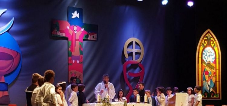 Celebració de les primeres comunions
