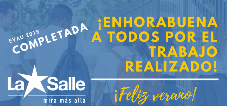 Los colegios La Salle de Benicarló, Alcoi, Paterna y Palma de Mallorca destacan de nuevo en las pruebas de acceso a la universidad y aumentan la media