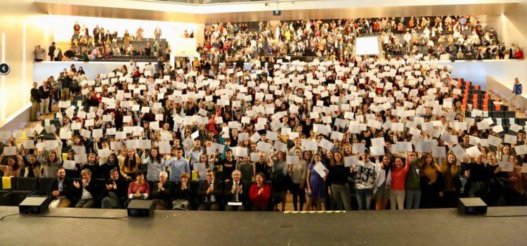 Alumnes de La Salle Palma guardonats amb els Premis de la Conselleria d'educació a l'Esforç Personal i al Rendiment Acadèmic Excel·lent 2017-2018