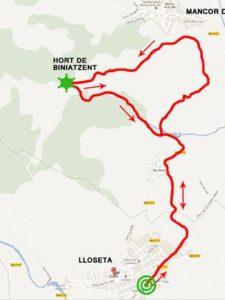 Tercera sortida grup senderisme: Biniamar-s'hort de Biniatzent-Biniamar. Diumenge 16 de desembre