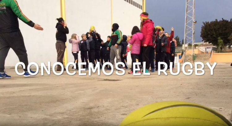 El Rugby llega a segundo de primaria de mano de Julia Flores