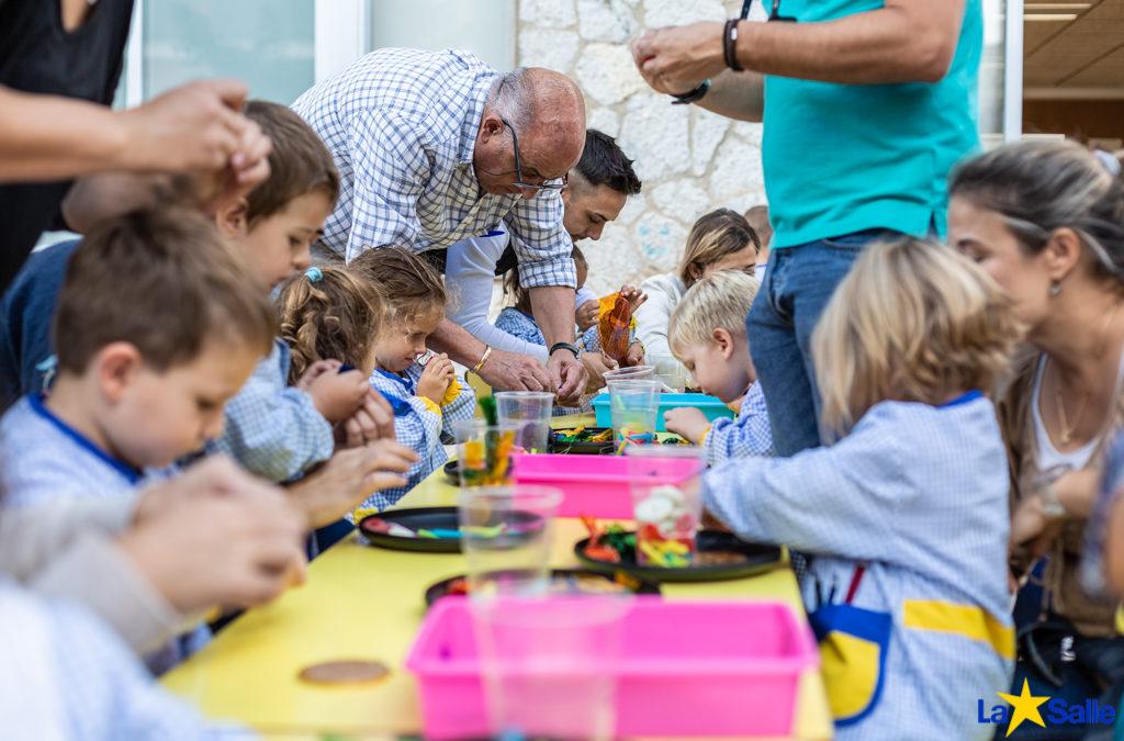 Taller de Rosaris a Educació Infantil